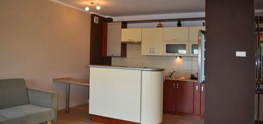 na zdjęciu nowoczesny salon mieszkania na sprzedaż
