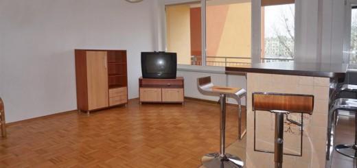 na zdjęciu salon mieszkania we Wrocławiu
