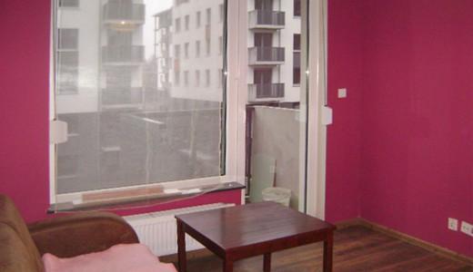 wnętrze mieszkania na wynajem we Wrocławiu