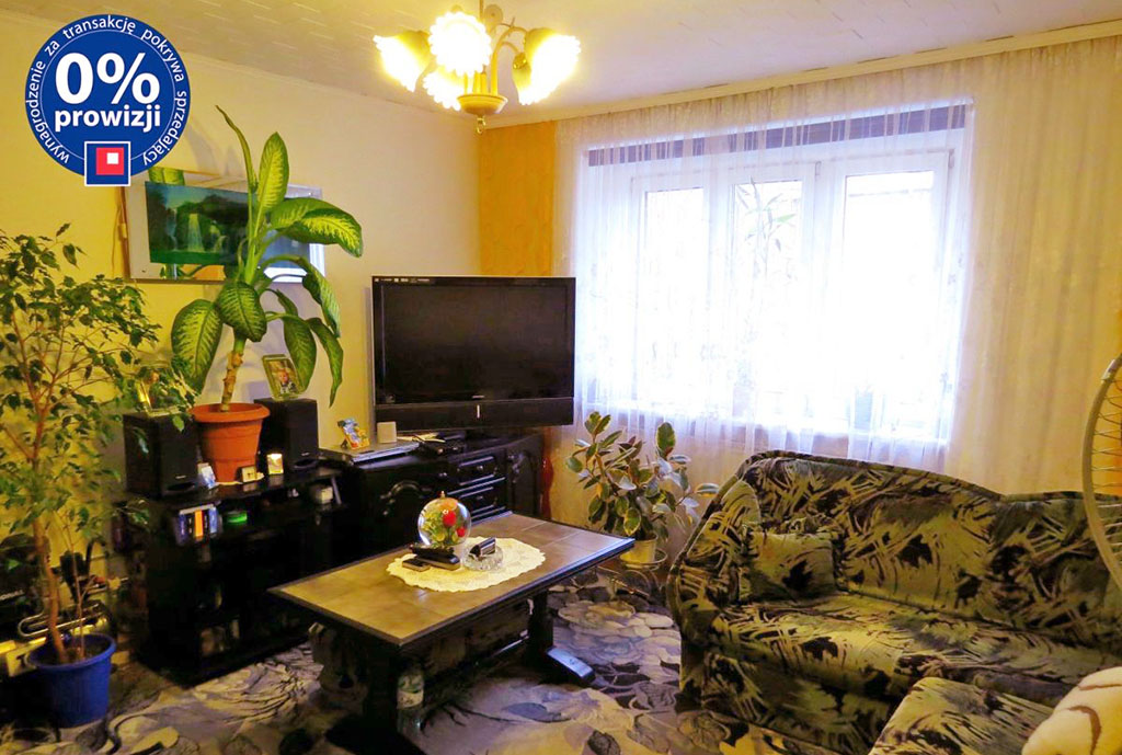 zdjęcie przedstawia duży pokój w mieszkaniu na sprzedaż we Wrocławiu, Psie Pole