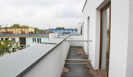 zdjęcie przedstawia taras przy mieszkaniu na sprzedaż we Wrocławiu Stare Miasto