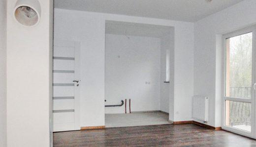 na zdjęciu mieszkanie na wrocławskich Krzykach na sprzedaż