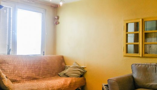 zdjęcie przedstawia mieszkanie we Wrocławiu do wynajmu, widok na duży pokój