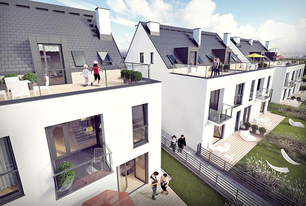 na zdjęciu widok z zewnątrz na budynek, w którym znajduje się oferowane mieszkanie do sprzedaży