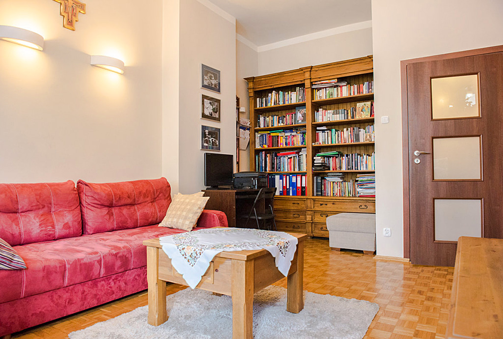 salon w mieszkaniu na sprzedaż we Wrocławiu - Fabryczna