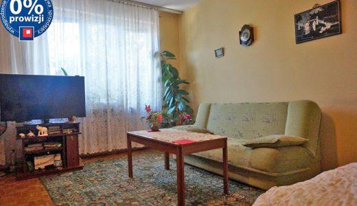 salon w mieszkaniu do sprzedaży na Starym Mieście we Wrocławiu