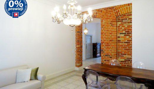 luksusowe wnętrze mieszkania w Śródmieściu Wrocławia do wynajmu