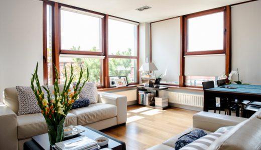na zdjęciu wnętrze mieszkania do sprzedaży we Wrocławiu