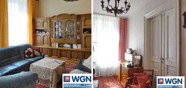 na zdjęciu fragment dwóch pokoi w mieszkaniu na sprzedaż we Wrocławiu