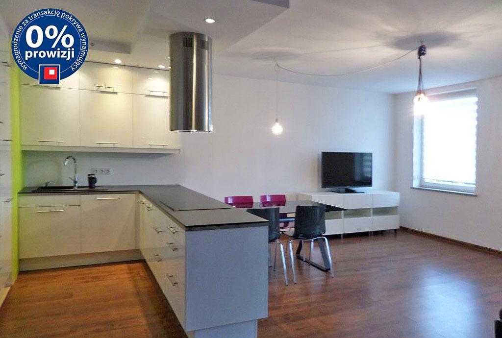 na zdjęciu widok na wnętrze mieszkania do wynajęcia we Wrocławiu