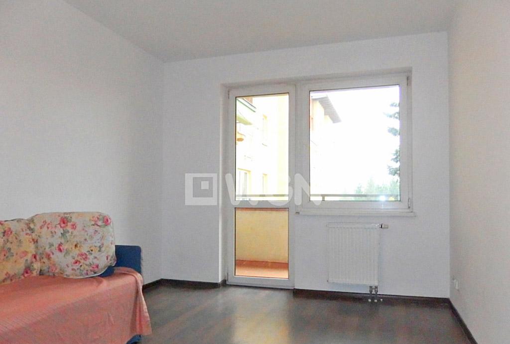 na zdjęciu salon w mieszkaniu na wynajem we Wrocławiu