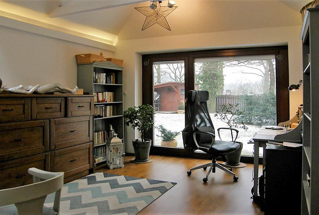 widok na gabinet w mieszkaniu na sprzedaż we Wrocławiu
