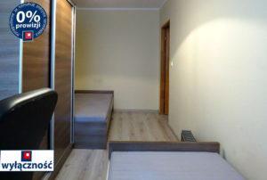 widok na sypialnię w mieszkaniu we Wrocławiu na sprzedaż