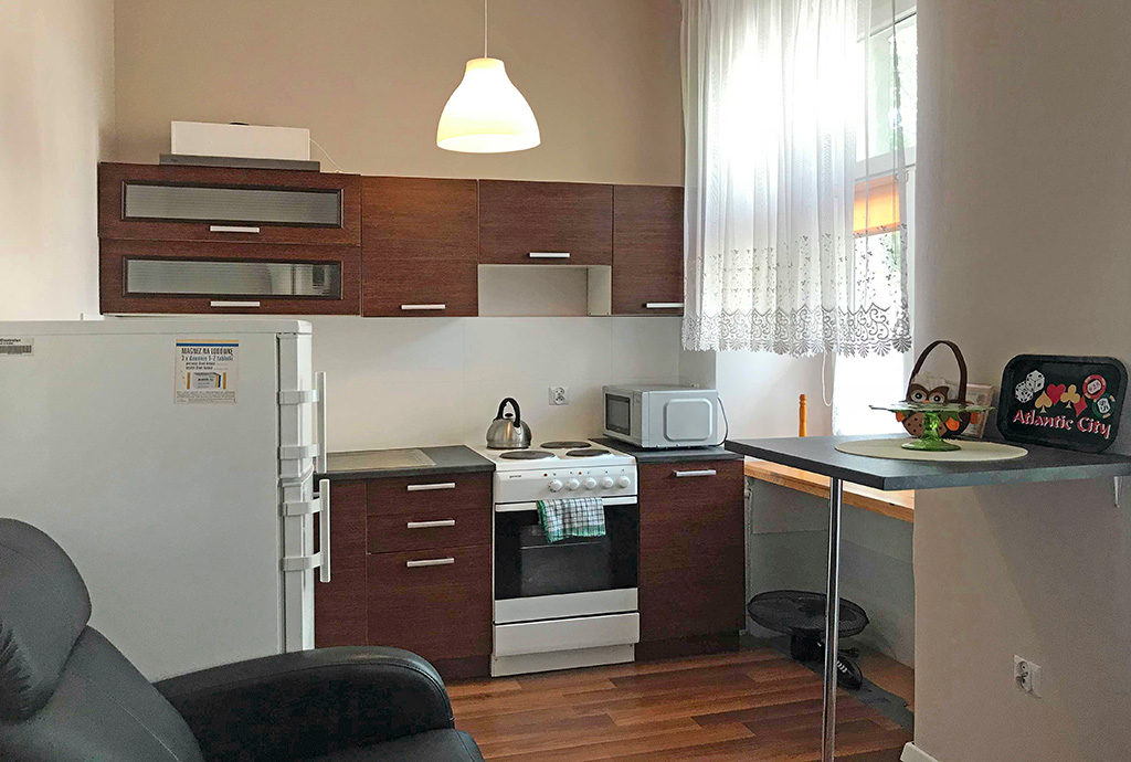 nowoczesna kuchnia w mieszkaniu do sprzedaży we Wrocławiu