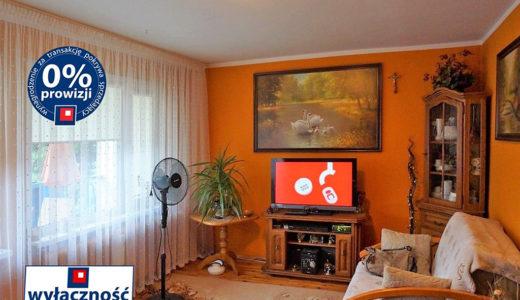 stylowy salon w mieszkaniu do sprzedaży we Wrocławiu
