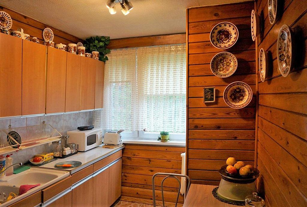 na zdjęciu komfortowa kuchnia w mieszkaniu we Wrocławiu na sprzedaż