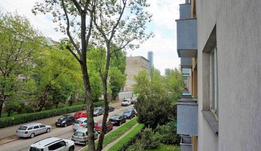 widok z okna mieszkania do sprzedaży we Wrocławiu