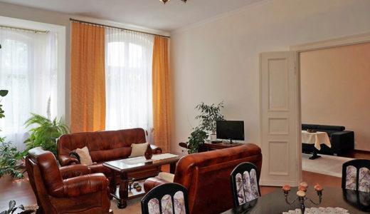 ekskluzywny salon w mieszkaniu do sprzedaży we Wrocławiu