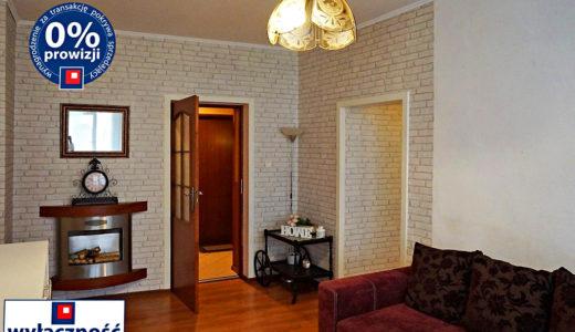 komfortowy salon w mieszkaniu do sprzedaży we Wrocławiu na Starym Mieście
