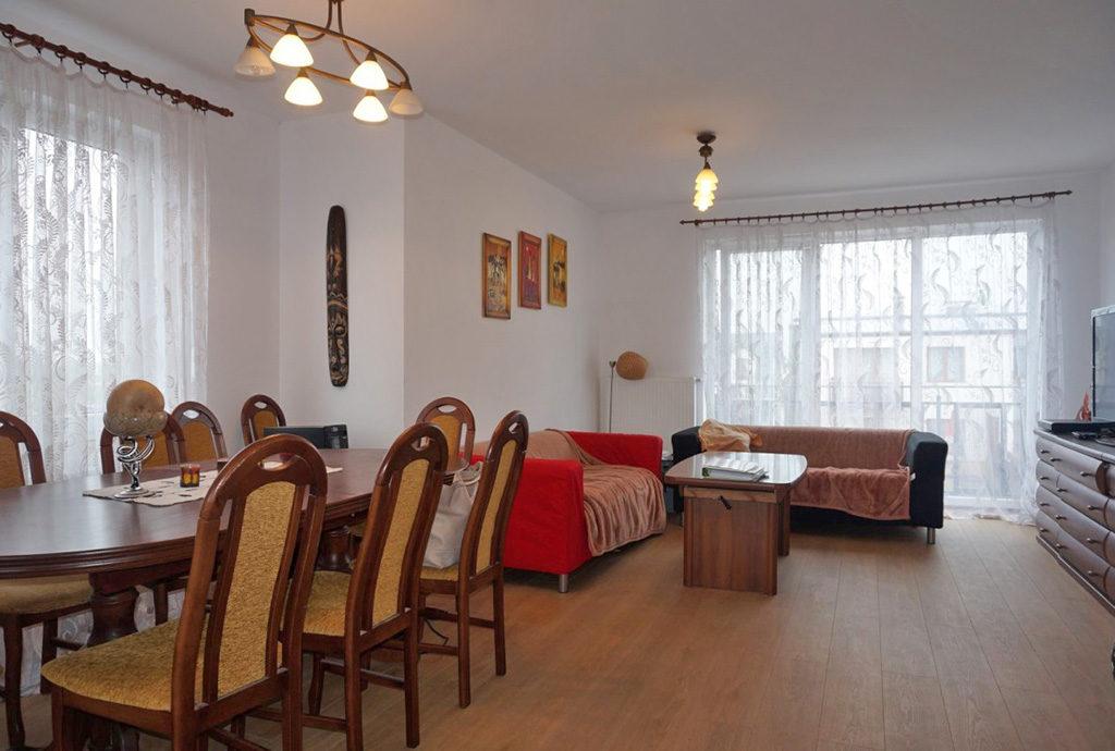 stylowe wnętrze mieszkania na sprzedaż we Wrocławiu (okolice)