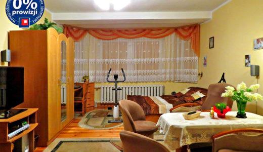komfortowy salon w mieszkaniu do sprzedaży we Wrocławiu (okolice)