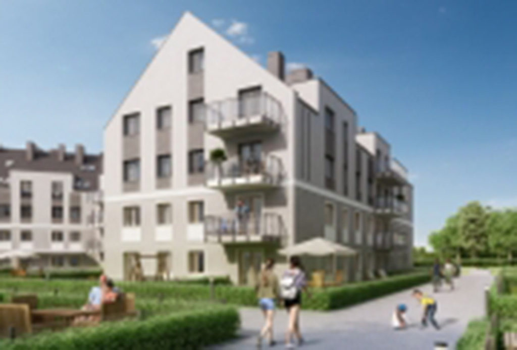 apartamentowiec we Wrocławiu Fabryczna, gdzie mieści się oferowane na wynajem mieszkanie do sprzedaży