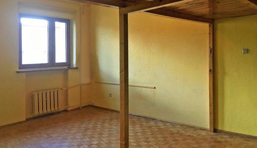 pokój pod salon w mieszkaniu do sprzedaży we Wrocławiu (okolice)