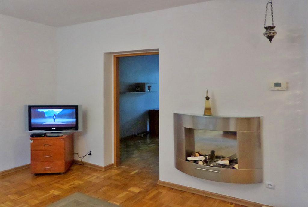 fragment luksusowego salonu w mieszkaniu do wynajmu we Wrocławiu na Psim Polu