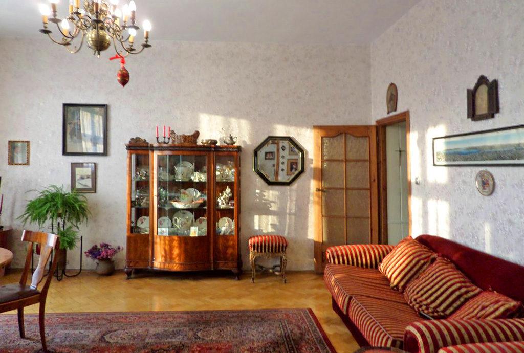 fragment salonu mieszkania Wrocław sprzedaż