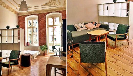 stylowe wnętrze mieszkania Wrocław Centrum na wynajem