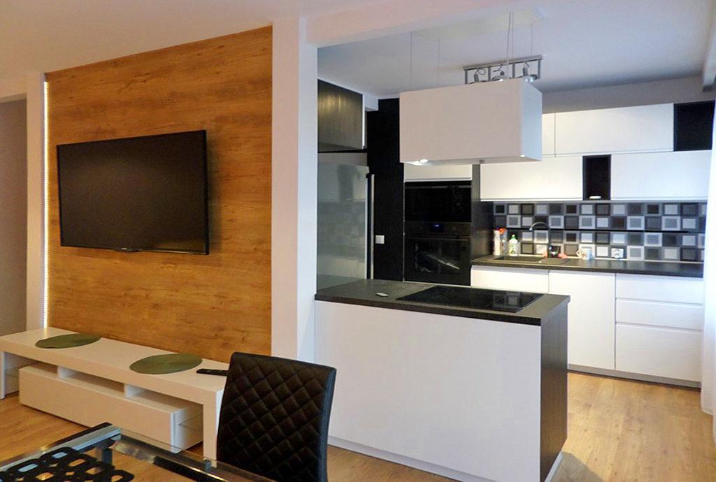 nowoczesne wnętrze mieszkania Wrocław do wynajęcia