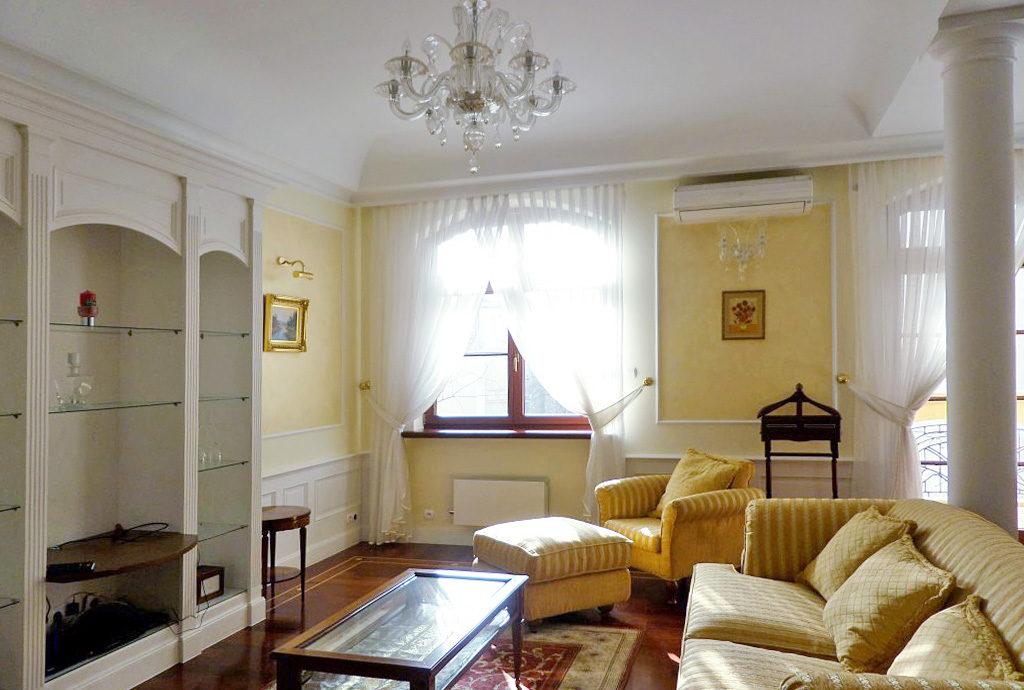 inny widok na prestiżowy salon w mieszkaniu na sprzedaż Wrocław Krzyki