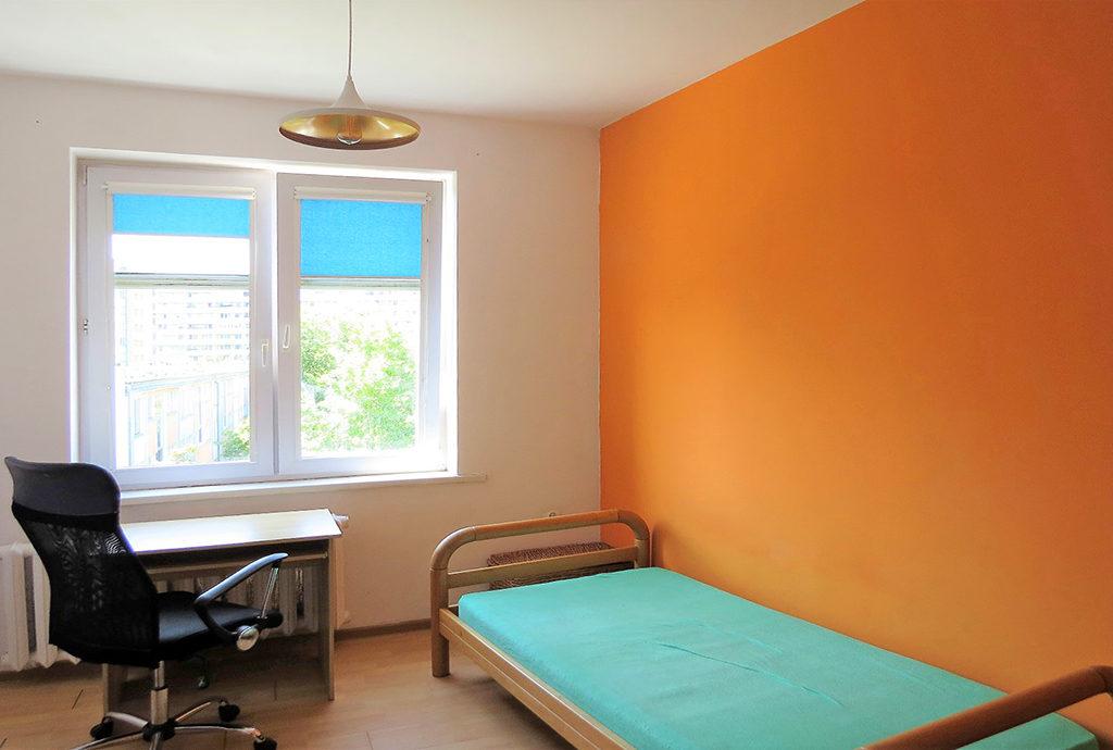 wygodna, zaciszna sypialnia w mieszkaniu do sprzedaży Wrocław Krzyki
