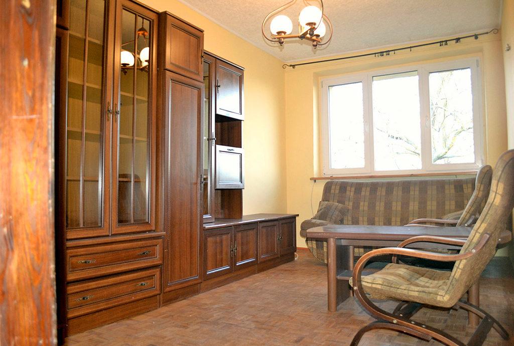 widok na luksusowy salon w mieszkaniu na sprzedaż Wrocław (okolice)