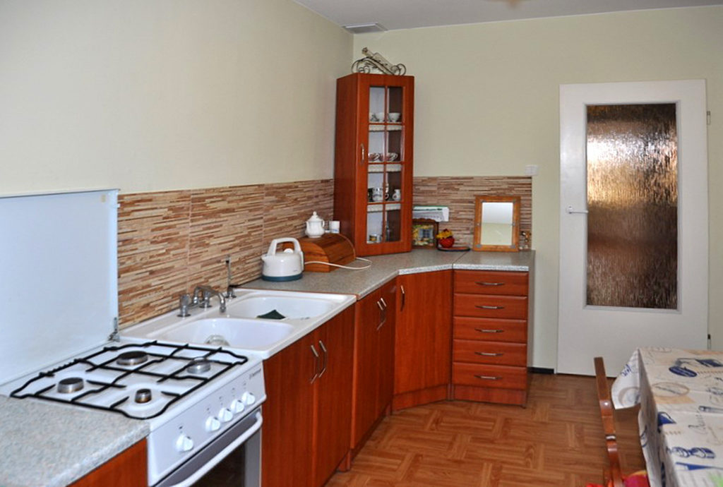 stylowa kuchnia w mieszkaniu do sprzedaży Wrocław (okolice)