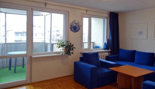komfortowy i przytulny salon w mieszkaniu do sprzedaży Wrocław