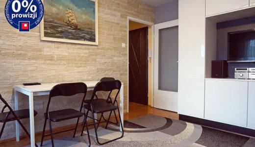 komfortowy salon w mieszkaniu do wynajęcia Wrocław Fabryczna