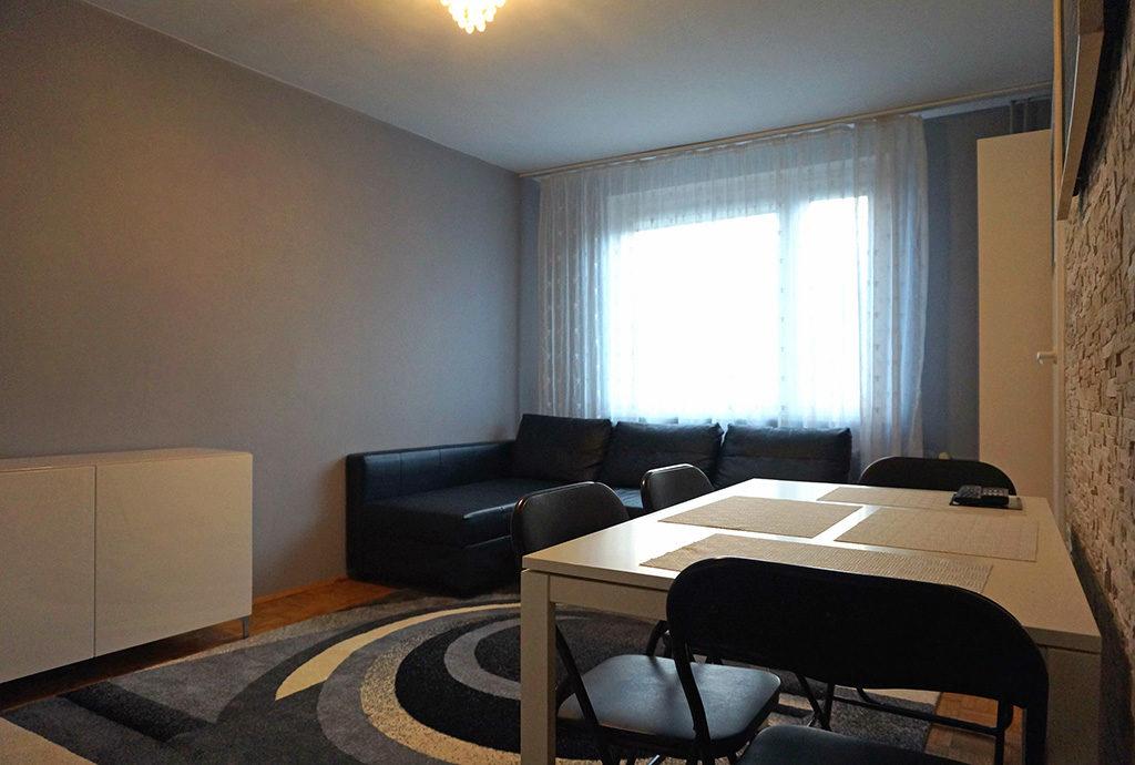 ekskluzywny salon w mieszkaniu do wynajmu Wrocław Fabryczna