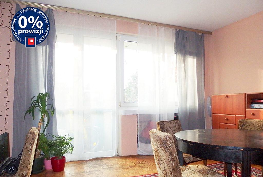 stylowy salon w mieszkaniu do sprzedaży Wrocław