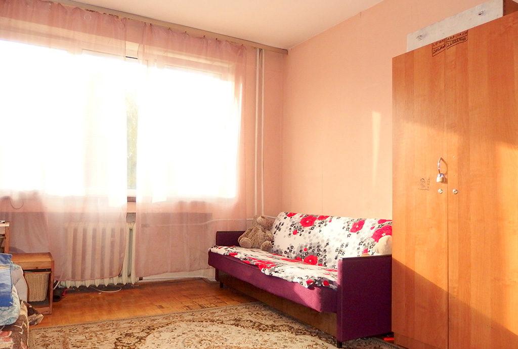 widok na jedne z pokoi w mieszkaniu do sprzedaży Wrocław