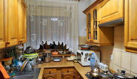 zdjęcie prezentuje fragment stylowej kuchni w mieszkaniu do wynajęcia Wrocław