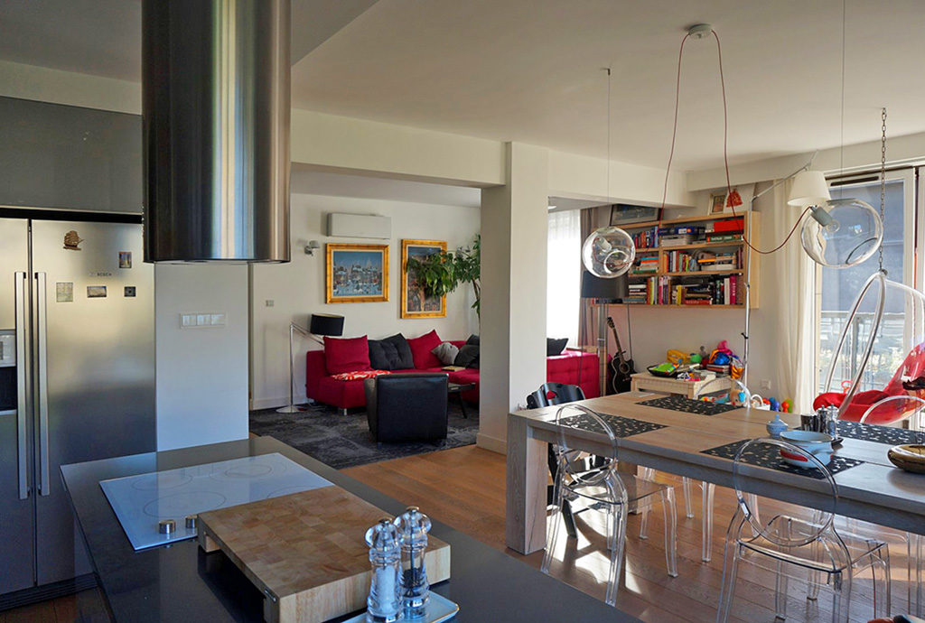 nowoczesne, designerskie wnętrze mieszkania do wynajęcia Wrocław
