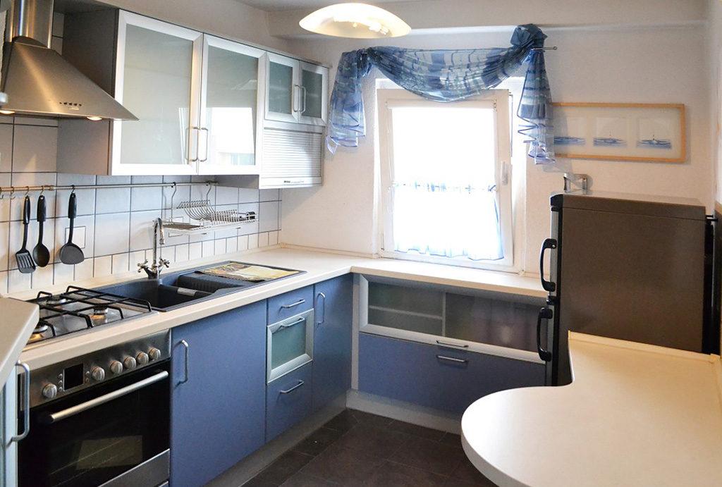na zdjęciu komfortowa kuchni w mieszkaniu na wynajem Wrocław Psie Pole