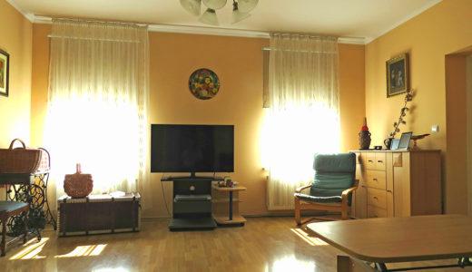 prestiżowo wykończony w wysokim standardzie salon w mieszkaniu do sprzedaży Wrocław Fabryczna