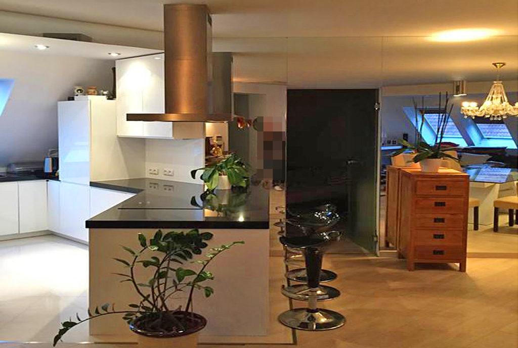 nowoczesne wnętrze i kuchnia w mieszkaniu do wynajmu Wrocław