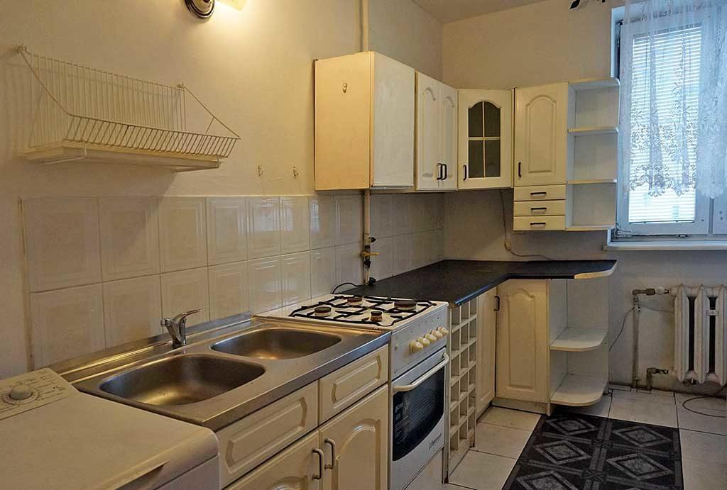 zabudowana kuchnia w mieszkaniu na sprzedaż Wrocław
