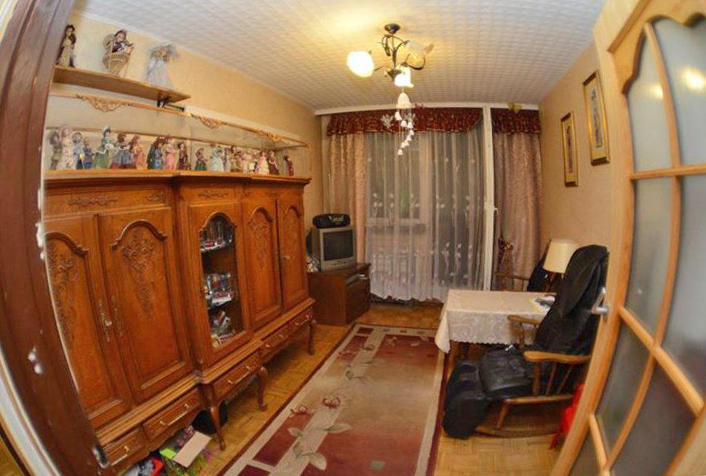 komfortowy salon w mieszkaniu do sprzedaży Wrocław Śródmieście