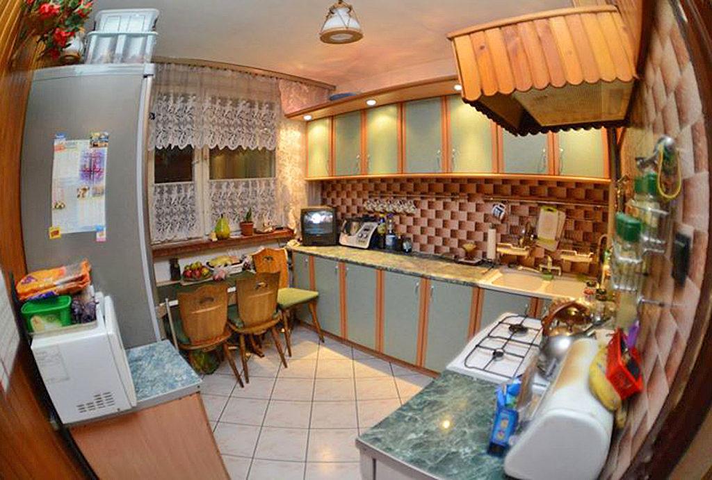 umeblowana kuchnia w mieszkaniu do sprzedaży Wrocław Śródmieście