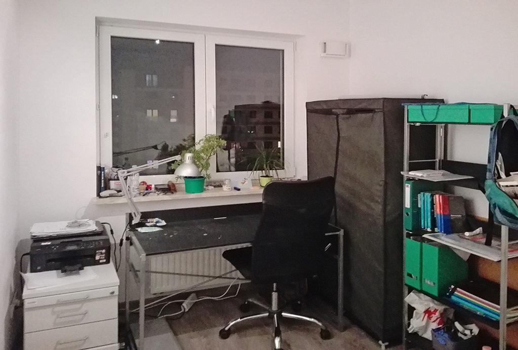 gabinet do pracy w mieszkaniu na wynajem Wrocław