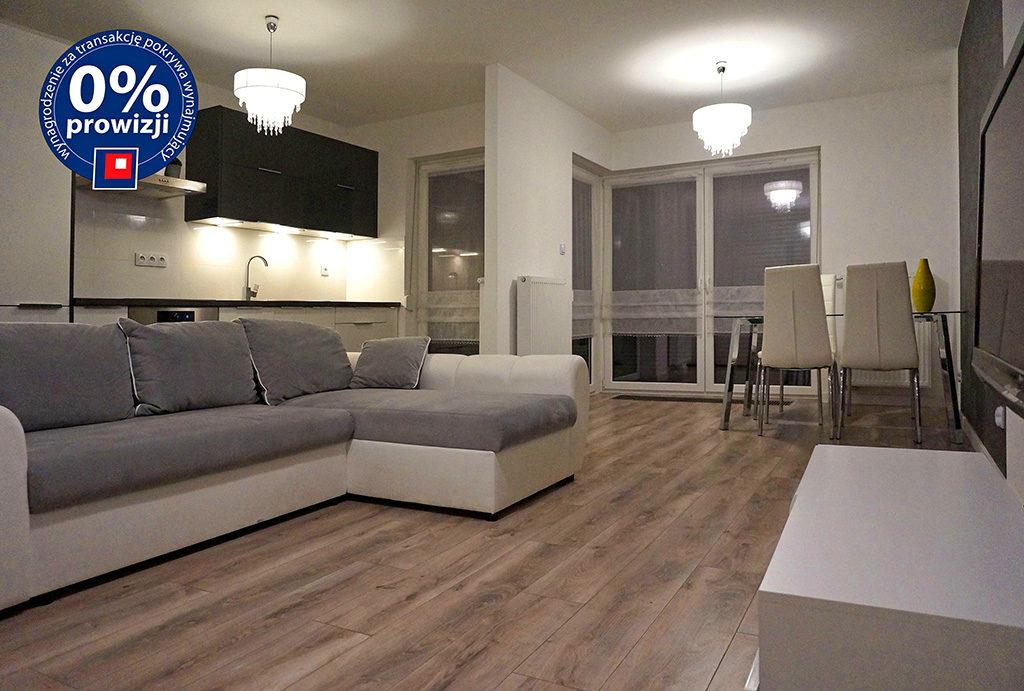 przestronne wnętrze mieszkania do wynajmu Wrocław Krzyki